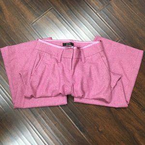 VS mauve wool fully lined wide leg pants-Sz 2